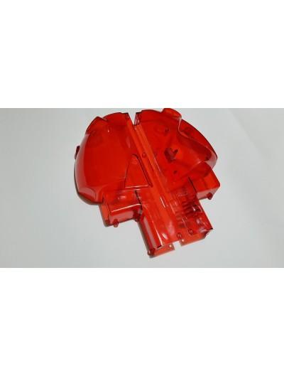 Scocche rosso trasparente