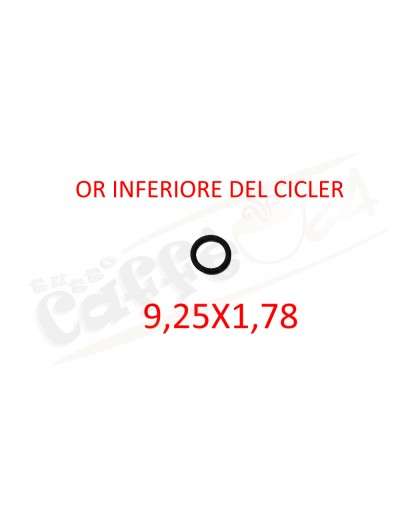 Or inferiore del cicler