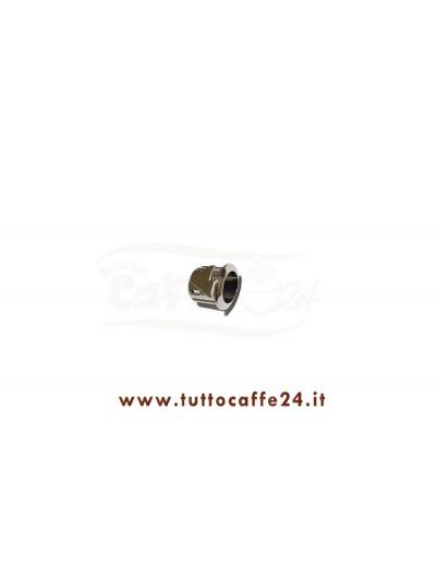 Supporto Tasto ovale cromato Rdl Sweet Coffee